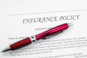 insurance policy with pen web