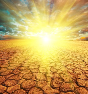 drought - hot sun